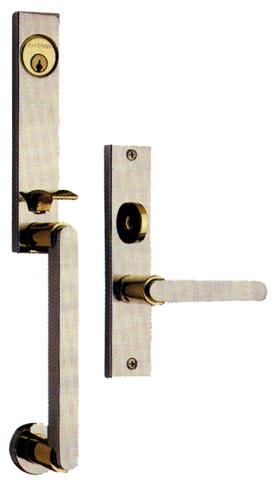Mortise Handle Set Metropolitan 6949 Designer S Brass Inc