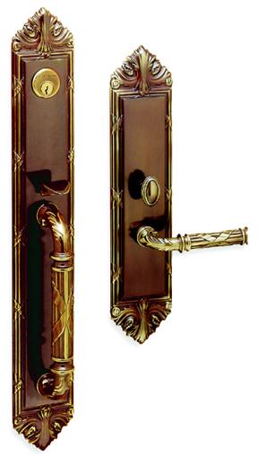 Mortise Handle Set Edinburgh 6952 Designer S Brass Inc